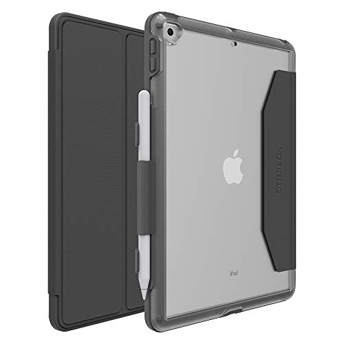 OtterBox Unlimited Folio for Apple iPad 10.2 Inch (7th Gen 2019 / 8th Gen 2020) - Grey/Clear - Non-Retail Packaging