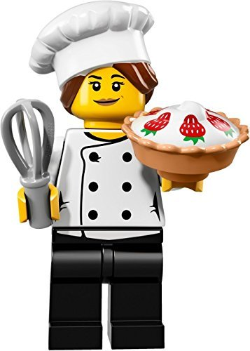 LEGO Collectible Minifigure Series 17 - Gourmet Chef (71018)