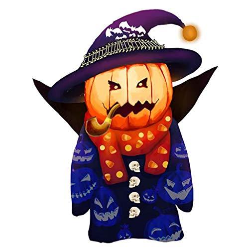 Aufkleber Halloween Fenstersticker Fensterbild Statisch Wandaufkleber Party Dekoration, Halloween Wandaufkleber Fenster Aufkleber Schädel Kürbis Aufkleber