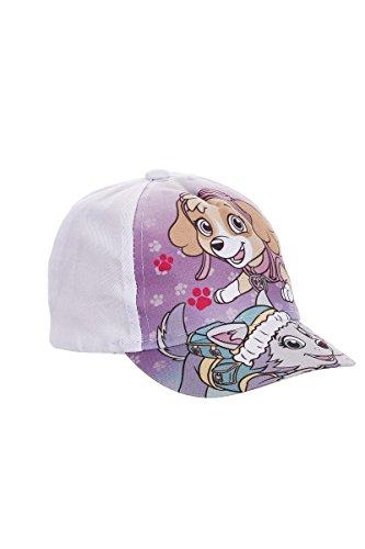 PAW PATROL Kappe Unisex Mädchen Jungen Sommer Hut Cap (50, Weiß)