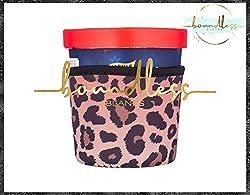 top 10 generic ice cream Generic-Pint Cheetah Print Ice Cream Cozy l Neoprene Ice Cream Case l Pint Isolator l Gift…