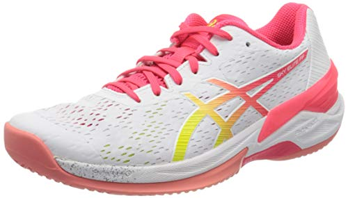 ASICS Womens 1052A024-100_39 Volleyball Shoes, White