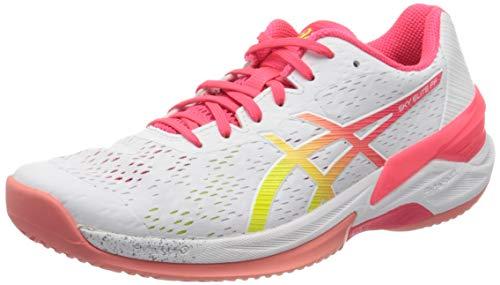 ASICS Womens 1052A024-100_39 Volleyball Shoes, White, EU
