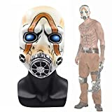 Cafele Game Borderlands 3 Psycho Mask Scary Halloween Cosplay Props White