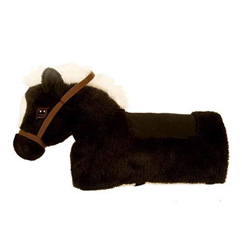 Animal-Riding Reitpferd Maharadscha Baby Horse (für Kinder ab 6 Monaten, Farbe weiß) ZRB002S, schwarz