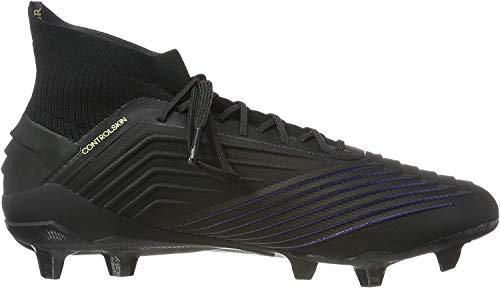 adidas Herren Predator 19.1 Fg Fußballschuhe, Schwarz (Core Black/Core Black/Utility Black Core Black/Core Black/Utility Black), 44 2/3 EU