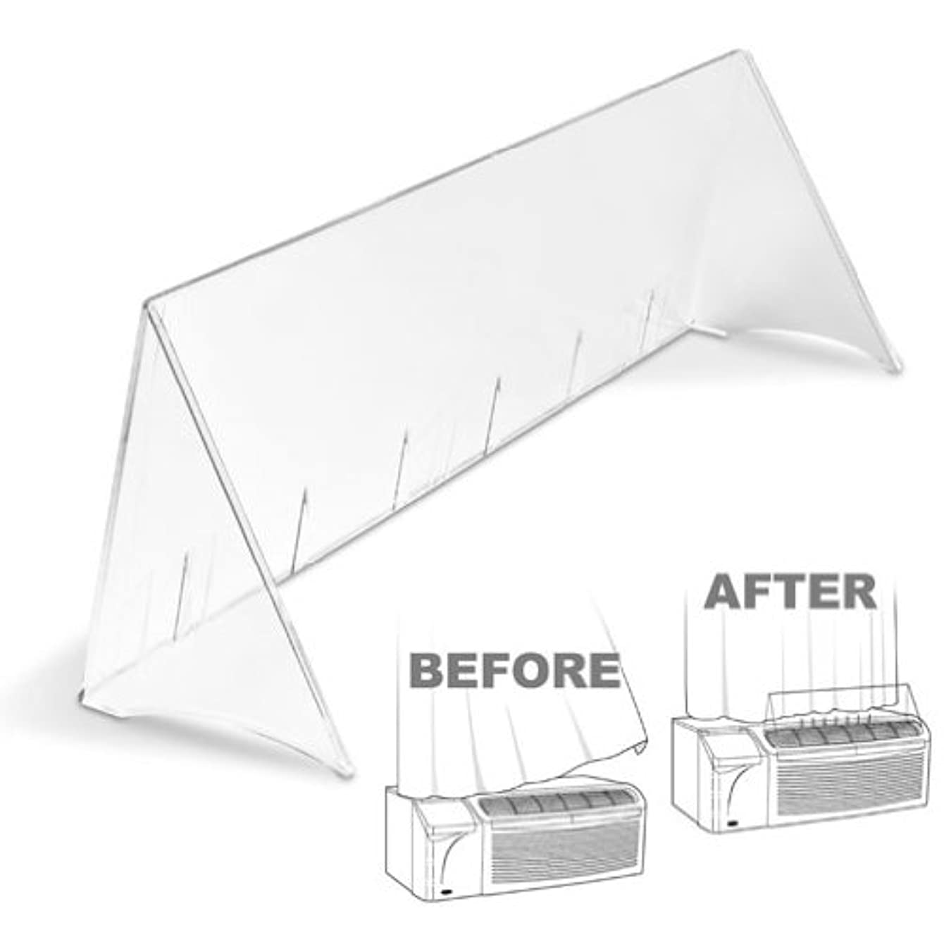 TayMac DA28 Polycarbonate Air Deflector For Amana - 118783,