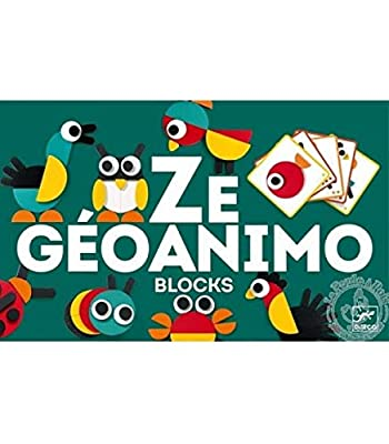 DJECO Ze Geoanimo Construction Toy, Green
