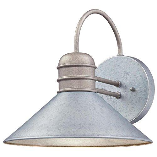 Westinghouse Lighting 6360900 Watts Creek One-Light, Galvanized Steel Finish OUTDOOR WALL Fixture,