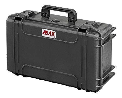 Max Cases MAX520 - Maletín hermético para Transportar y Proteger Equipos y Materiales sensibles, Dimensiones Interiores 520 x 290 x 200 mm
