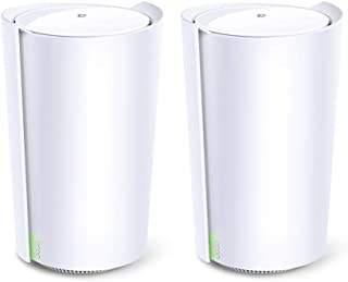 TP-Link Wi-Fi 6 メッシュWiFi ルーター 4804 + 1201 + 574 Mbps 無線LAN 3年保証 Deco X90 2ユニット