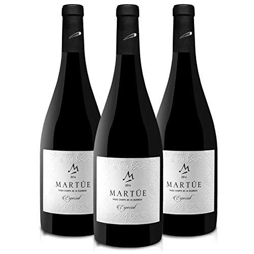 Martúe Especial Vino Tinto Reserva D.O. Pago Campo de la Guardia - 3 Botellas x 750 ml