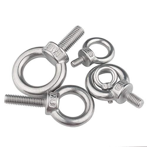 Anillo de extremo de tornillo de anillo de acero inoxidable 304-M5*11