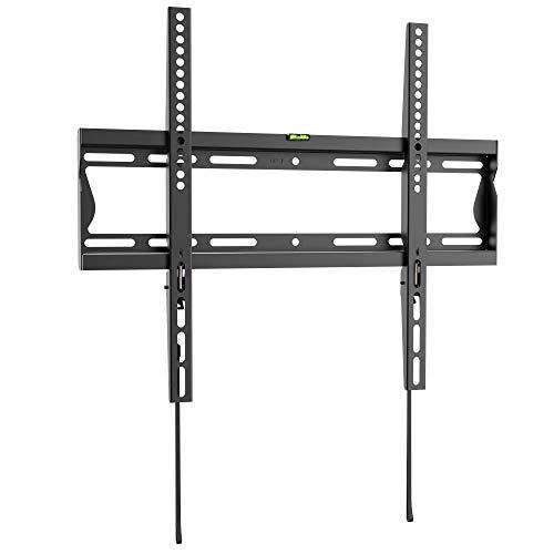 RICOO F2044, TV Wandhalterung, Flach, Fix, Universal 32-55 Zoll (81-140cm), TV-Halterung, Ultra-Slim, für Curved LED Fernseher, VESA 200x200-400x400