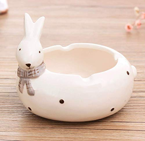 AMITD mode cartoon dier keramiek asbak leuke katjes konijn huis woonkamer decoratie asbak creatieve kantooraccessoires