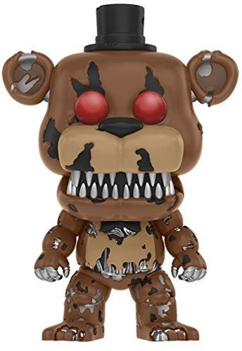 Funko Pop!- Nightmare Freddy Figura de Vinilo, coleccion de Pop, seria FNAF (11064)