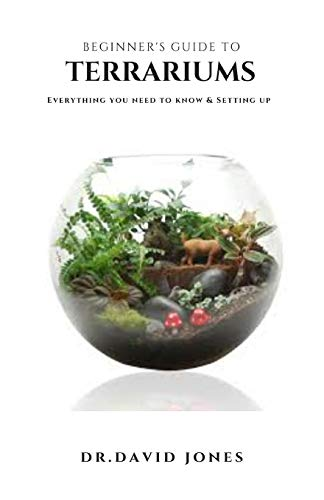 BEGINNER'S GUIDE TO TERRARIUMS: Step By Step Guide On Setting Up A Terrarium Plus Everything You Need To Know
