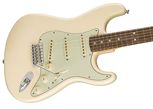 Fender American Original '60s Stratocaster Electric Guitar (Olympic White)