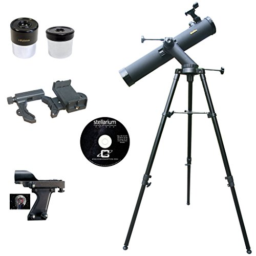 Galileo 800mm x 90mm Smartphone Photo Adapter Reflecting Telescope