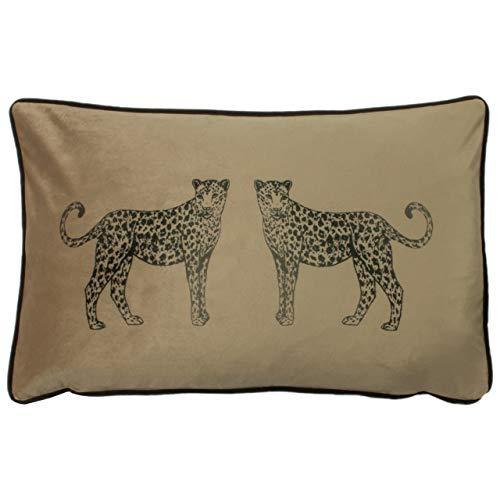 Evans Lichfield Savannah Leoparden Kissenbezug, Keks, 30 x 50cm