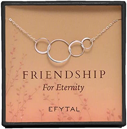 4 person friendship necklace _image0