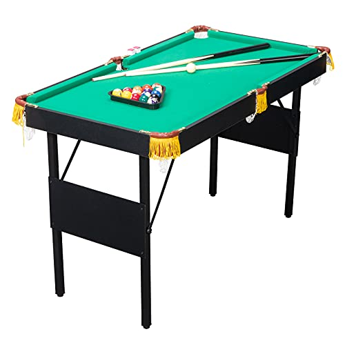 PEXMOR Mini Pool Table with 16 Balls, 2 Cues, Chalk, Brush and Triangle