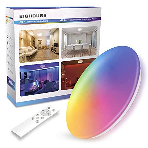 BIGHOUSE -  Deckenlampe RGBW,