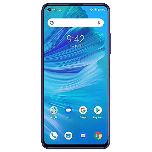 UMIDIGI F2 SIMフリースマートフォン128GB ROM + 6GB RAM Helio P70オクタコア 5150mAh大容量バッテリー 18W高速充電 Android 10.0 48MP+13MP+5MP+5MPクアッドリアカメラ 6.53インチ全画面 FHD+パンチホールディスプレイ技適認証済 顔認証 指紋認証