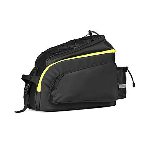 HLR bagagedragertassen fiets-achterbank-zeeszak, 17 l grote capaciteit, multifunctionele rugzak, fiets-tas, geschikt voor mountainbike, racefiets, vrijetijdsfiets, vouwfiets etc.