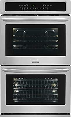 """Frigidaire FGET2765PF Gallery 27"""" Stainless Steel Electric Double Wall Oven - Convection"""