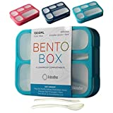 Bento Lunch-box for Kids Boys Girls | Leak-proof School Bentobox | Meal Prep Portion Container...