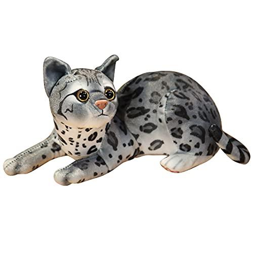 Aiong Muñecos de Peluche, muñeco de Gato de Felpa, Animal de Peluche Suave, Gatito de Felpapara niños, Dibujos Animados, Regalo de cumpleaños para niños
