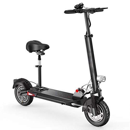 CZPF Scooter eléctrico plegable de Dos ruedas de 10 pulgadas Scooter de Bicicleta Hoverboard