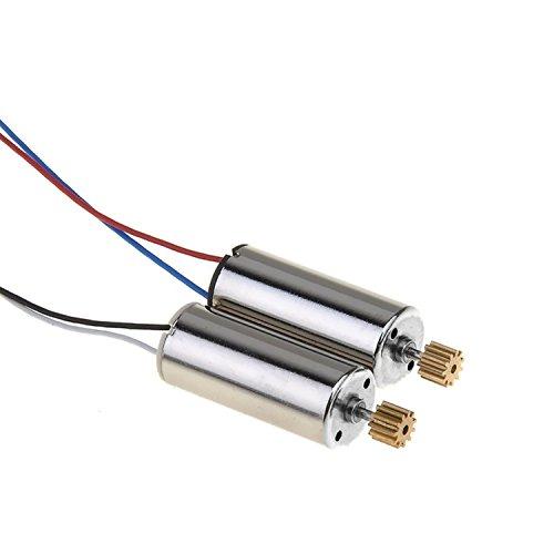 Replacement Motor, Potensic® Quadcotper Motor Spare Parts for JJRC H8D H8C F183D F183W Drone (A Motor & B Motor)
