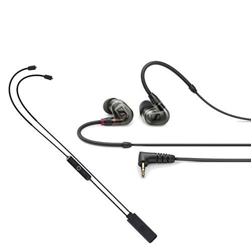 Sennheiser IE 400 PRO in-Ear Headphones for Wireless Monitoring Systems with Mackie MP-BTA Bluetooth Adapter (Black)