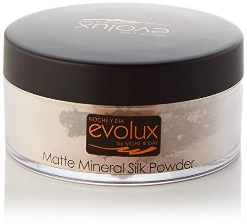 Polvo Suelto Matizador Traslucido, Color N.53 Claro, Evolux Matte Mineral Silk Powder 30 gr.
