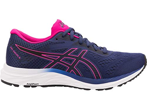 ASICS Women's Gel-Excite 6 Running Shoes, 7.5M, Indigo Blue/Pink Rave