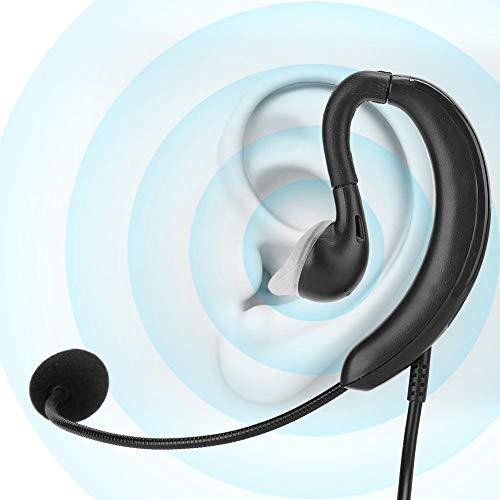 Fone de ouvido com gancho com fio, fone de ouvido de mesa para notebook USB suporta Mudo de uma tecla para Skype/QQ/MSN, Fone de ouvido de computador portátil com microfone para treinamento de ensino