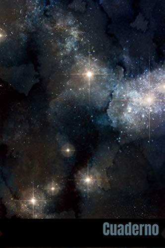 cuaderno: galaxias cuaderno _110 páginas _ 6x9 pulgadas