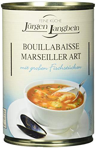 Jürgen Langbein Bouillabaisse Fischsuppe, 6er Pack (6 x 400 ml)