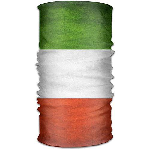 Annays Kerchief Hoofdband Bandanas Italiaanse Vlag Veelzijdige Sport Magic Sjaal hals Gaiter Balaclava Helm Liner Rijden Gezichtsmasker