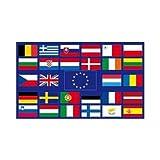 Europa 28 Länder Fahne (L70)