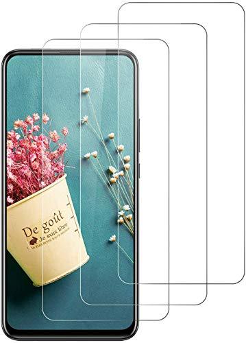 SNUNGPHIR 3 Pezzi Vetro Temperato per Huawei P Smart Z, Protezione Schermo, [Anti-Graffi] [9H Durezza/Senza Bolle] [Alta Trasparente] Pellicola Protettiva Compatibile con Huawei P Smart Z