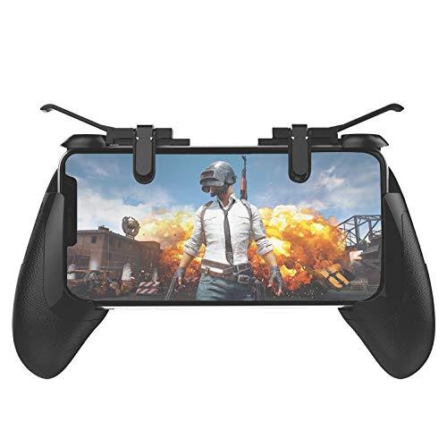 LBSJW Juego de la Palanca de Mando 8 de RK Juego Ganador Pollo Gamepad (Negro) Wireless Game Controller (Color : Black)