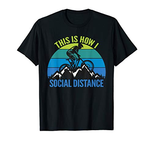 Mens Funny Mountain Bike MTB Quotes Biker Cyclist T-Shirt