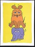 Unbekannt Die Sendung mit der Maus Maus und Elefan