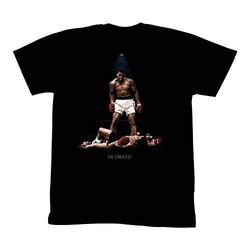 Muhammad Ali All Over Again Adult T-Shirt Tee Black