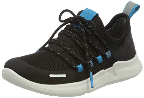 Superfit Jungen THUNDER Sneaker, (Schwarz/Blau 00), 32 EU