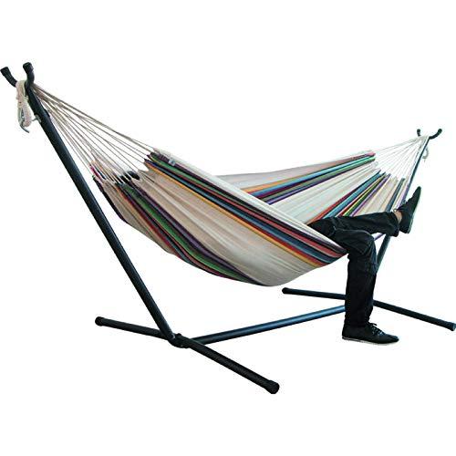 hängeliege,schwebeliege,Hammock 200x150cm hamac Outdoor Leisure Bed Hanging Bed Double Sleeping...