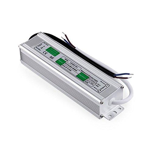 Adapter/driver voor LED van aluminium, voor buitenverlichting, DC, 12 V, 50 Watt, 8,3 A, waterdicht conform IP67